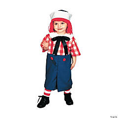 Toddler Boy's Raggedy Andy Costume - 2T-4T