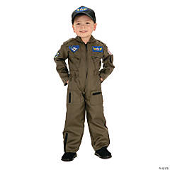 Toddler Boy's Air Force Fighter Pilot Costume