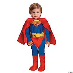 Toddler Boys' Deluxe Muscle Chest Superman Costume