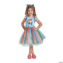 Toddler Classic My Little Pony Rainbow Dash Costume - 3T-4T