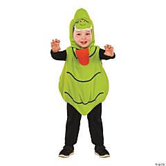 Toddler E-Z On Romper Ghostbusters Slimer Costume