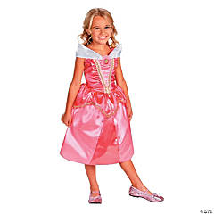 Toddler Girl's Classic Sparkle Disney Princess Sleeping Beauty™ Aurora Costume - 3T-4T