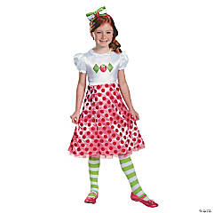 Toddler Girl's Classic Strawberry Shortcake™ Costume - 3T-4T