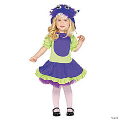 Toddler Girl's Cuddle Monster Costume
