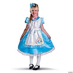 Toddler Girl's Deluxe Alice in Wonderland™ Alice Costume - 3T-4T