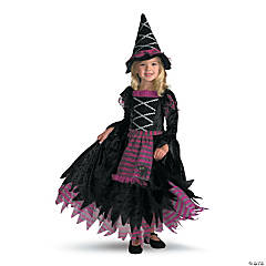 Toddler Girl's Fairy Tale Witch Gown Costume - 3T-4T