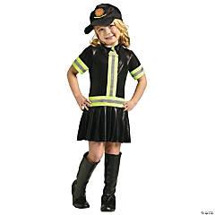 Toddler Girl's Firefighter Costume - 24 Months-2T