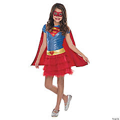 Toddler Girl's Frilly Supergirl™ Costume - 2T