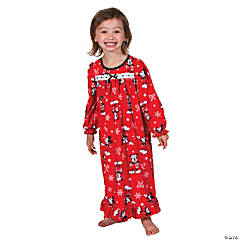 Toddler Girl's Mickey Mouse Christmas Pajamas - 4T