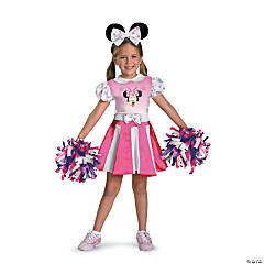Toddler Girl's Minnie Mouse™ Cheerleader Costume - 3T-4T