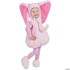 Toddler Girl's Pink Elephant Costume - 2T-4T