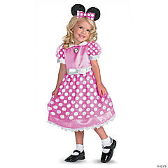 Toddler Girl's Pink Mickey Mouse Clubhouse™ Minnie Mouse Costume - 3T-4T