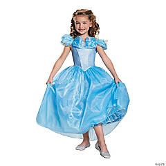 Toddler Girl's Prestige Cinderella Movie Halloween Costume - 3T - 4T