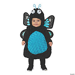 Toddler Girl's Blue Butterfly Costume - 2T-4T