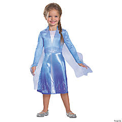 Toddler Girl's Classic Disney's Frozen II Elsa Costume - 3T-4T