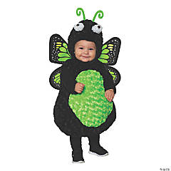 Toddler Girl's Green Butterfly Costume - 2T-4T
