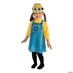 Toddler Girl's Minion™ Costume