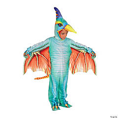 Toddler Light Blue Pterodactyl Costume - 2T-4T
