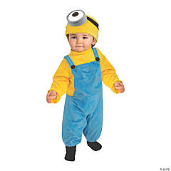 Toddler Minions Movie Stuart Minion Costume