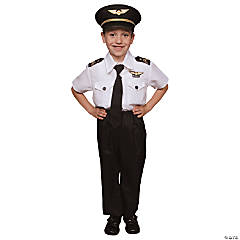Toddler Pilot Costume - 3T-4T