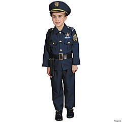 Toddler Police Officer Costume - 3T-4T