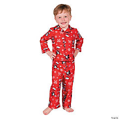 Toddler's Mickey Mouse Christmas Pajamas - 4T