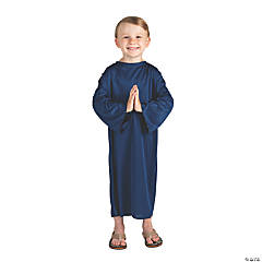 Toddler's Navy Blue Nativity Gown