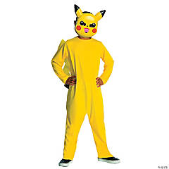 Toddler's Pikachu Halloween Costume - 2T-4T