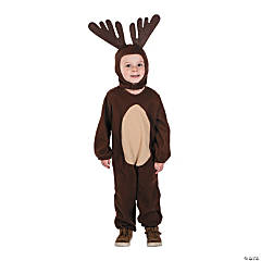 Toddler's Reindeer Costume - 3T-4T