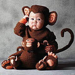 Toddler's Tom Arma Monkey Costume - 4T-5T