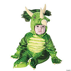 Toddler Triceratops Dinosaur Costume - 2T-4T