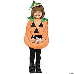 Toddler's Candy Collector Pumpkin Costume