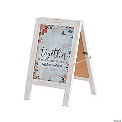 Together is Our Favorite Place Easel Tabletop Sign