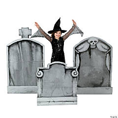 Tombstone Cardboard Stand-Ups Halloween Decorations