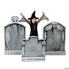 Tombstone Cardboard Stand-Ups Halloween Decorations