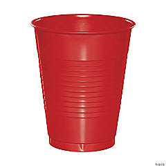 Touch of Color Classic Red 16 oz Plastic Cups 60 Count
