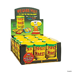 Toxic Waste® Hazardously Sour Candy® Drums