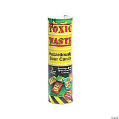Toxic Waste® Hazardously Sour Candy® Tube Bank