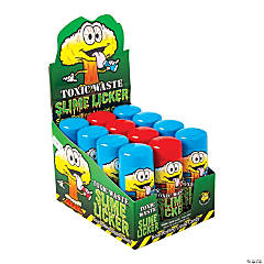 Toxic Waste® Slime Licker® Sour Liquid Candy Containers