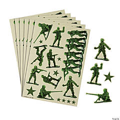 Toy Soldier Sticker Sheets