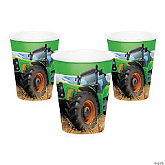 Tractor Party Cups