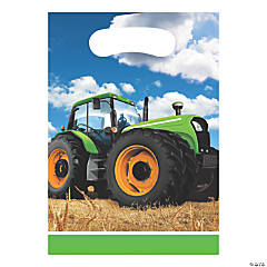 Tractor Party Treat Bags