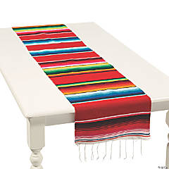 Traditional Serape Woven Table Runner