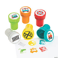 Train Kids Stampers
