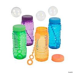 Translucent Bubble Bottles - 12 Pc.