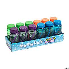 Translucent Bubble Bottles - 24 Pc.