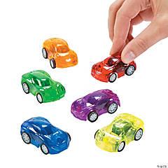 Transparent Pull-Back Cars