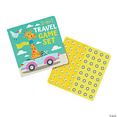 Travel 3-In-1 Game Sets