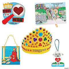 Treasure Hunt VBS Bible Story-a-Day Craft Kit Assortment for 12