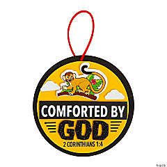 Treasure Hunt VBS Comforted by God Ornament Craft Kit